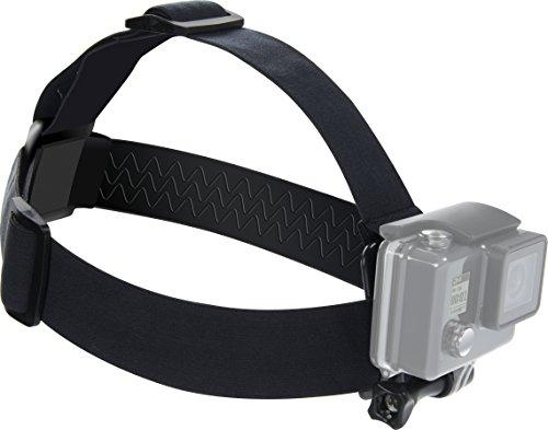 Speedlink Verstellbare Action-Cam-Halterung - Head Strap for GoPro (Neigbare Kamera-Vorrichtung - Gummierte Innenseite - für Kopf oder Helm) schwarz