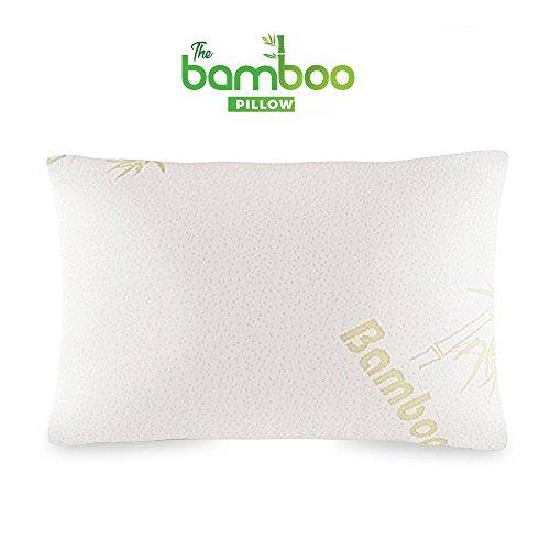 Bambus-Kissen weich Schaum zerrissenes, Perfekt Orthopädische konstanten Kopf komfort Entlastet Nackenschmerzen , Schnarchen, Migräne. Große Größe
