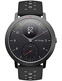 Withings Steel HR Sport - Multi-Sport Hybrid Smartwatch - Herzfrequenz- und Fitnesstracker, 40mm