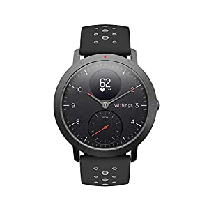 Withings Steel HR Sport – Multi-Sport Hybrid Smartwatch – Herzfrequenz- und Fitnesstracker, 40mm