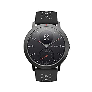 Withings Steel HR Sport Reloj Inteligente Híbrido, Unisex Adulto, Negro, 40 mm (B07GXW5DHV) | Amazon price tracker / tracking, Amazon price history charts, Amazon price watches, Amazon price drop alerts