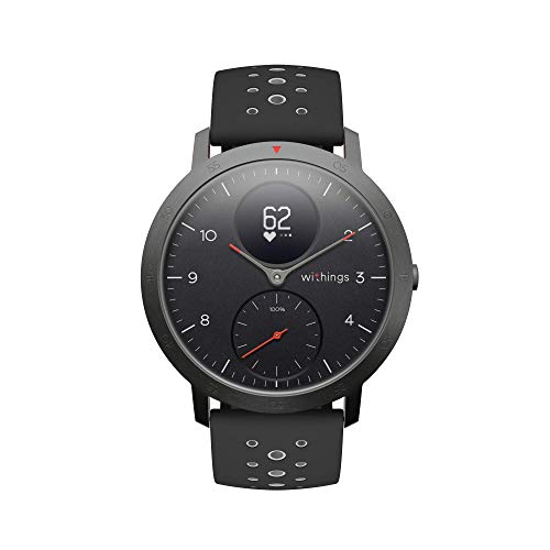 Withings Steel HR, Smartwatch Ibrido Multi-Sport Unisex - Adulto, Nero, 40 mm
