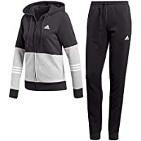 adidas WTS CO Energize Tracksuit, Mujer, Black/Medium Grey Heather/White, L