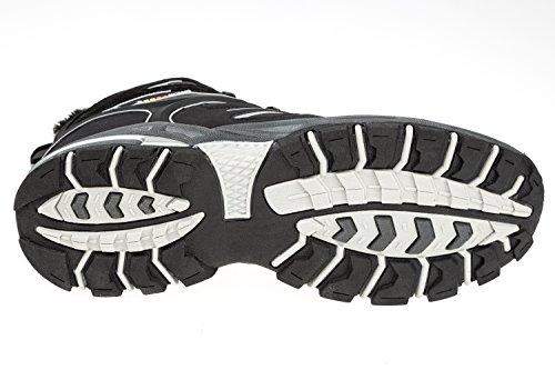 gibra , Chaussures de randonnée montantes pour femme noir/gris
