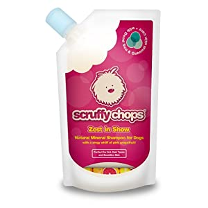 ScruffyChops Zest in Show Dog Shampoo 250ml/8.45fl oz from Finders International