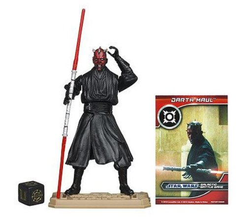 Hasbro - Figura de juguete Darth Maul Star Wars [Importado]