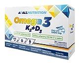 ALLNUTRITION Vit Omega3+D3+K2 Vitamine Mineralien Nahrungsergänzungsmittel Bodybuilding (30 Tabletten)