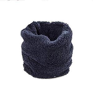 Zyangg-Home Bufanda niños Babero Lindo Caliente a Prueba de Viento cálido Cuello Cuello Regalo del bebé de la Bufanda de los niños de la Bufanda de Invierno (Color : Brown) 11