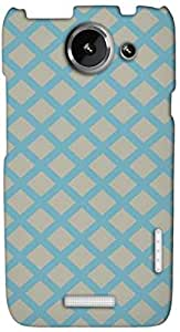Timpax protective Armor Hard Bumper Back Case Cover. Multicolor printed on 3 Dimensional case with latest & finest graphic design art. Compatible with HTC one X+ ( Plus ) Design No : TDZ-22777