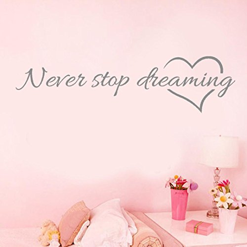 kingkor-never-stop-dreaming-removable-art-vinyl-mural-home-room-decor-wall-stickers-grey