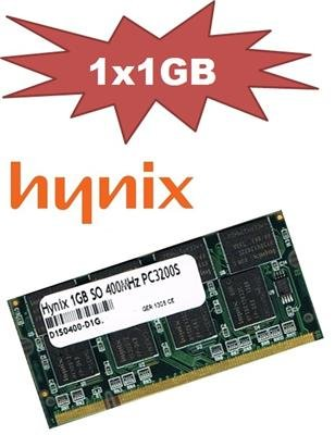 Mustang DIMM 1GB DDR400CL3(64Mx8) PremiumLine (Pc-3200 Notebook Ddr400 Sodimm)