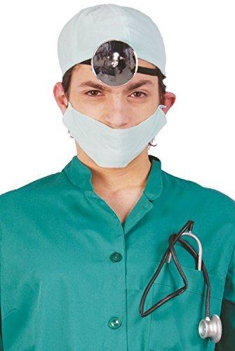 Herren Damen Arzt Chirurg Krankenhaus Uniform Rettungsdienste Job Beruf Kostüm Kleid Outfit Satz