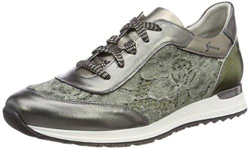 Dorking Viola, Zapatos Cordones Oxford Mujer, Verde