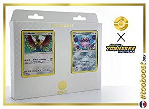 Ho-Oh 160/214 Y Forestress 124/214 - #tooboost X Soleil & Lune 8 Tonnerre Perdu - Box de 10 Cartas Pokémon Francés + 1 Goodie Pokémon