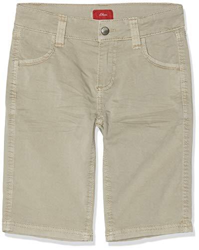 s.Oliver Jungen 62.906.74.2549 Shorts, Beige (Light Brown 8161), 164 (Herstellergröße: 164/SLIM) -