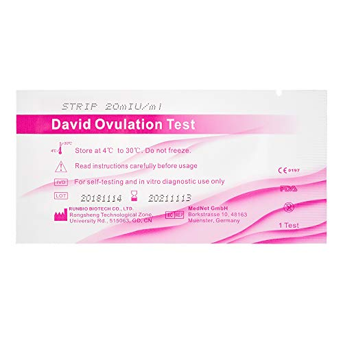 30 x David Ovulationstest Streifen 20 miu/ml LH ovulation test