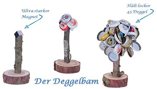 Preisvergleich Produktbild Deggelbam Das Männergeschenk für Biertrinker / Geburtstagsgeschenk für Männer Geschenkidee / Trinkspiel