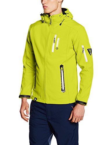 Geographical Norway Tevet Men Color, Blouson Homme Vert (KIWI)