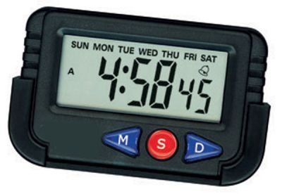 SOSA Digital Lcd Alarm Table Desk Car Calendar Clock Timer Stopwatch  available at amazon for Rs.99