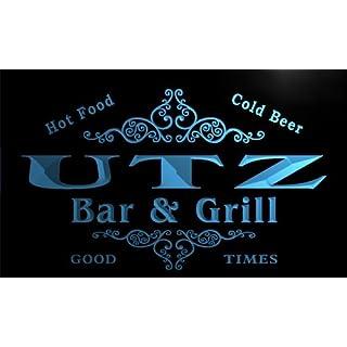 u46189-b UTZ Family Name Bar & Grill Home Decor Neon Light Sign Barlicht Neonlicht Lichtwerbung