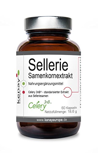 Sellerie | Samenkornextrakt | (60 Kapseln) | Kenay Europe