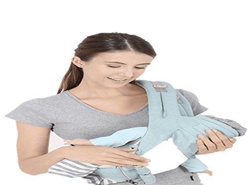 ZZQY Baby Gürtel, Taille Hocker, Vier Jahreszeiten Vielseitig, Vorne und Horizontal Halten, Kind Kind Hält Baby mit Baby Single Hocker. -