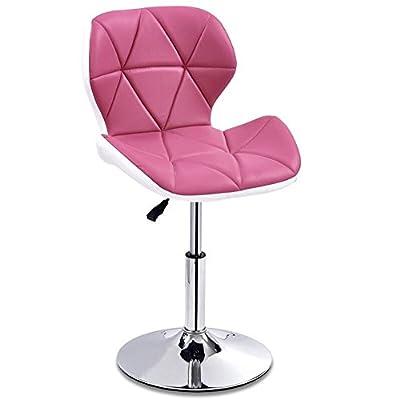 JDⓇ Hocker JDⓇ Bar-Küche-Frühstücks-Esszimmer-Stuhl-hoher Schemel kann auf und ab heben Swivel-Geschäfts-Hall-Stuhl-Rosa von Jin Dun shop auf Gartenmöbel von Du und Dein Garten