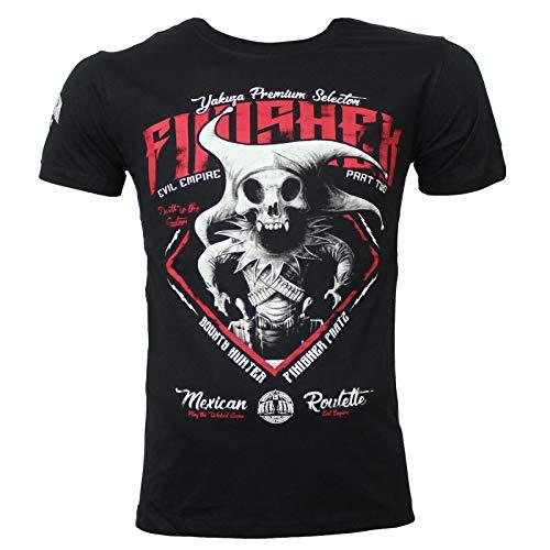 Yakuza Premium Herren T-Shirt 2711 schwarz - Herren Schwarz Premium-t-shirt