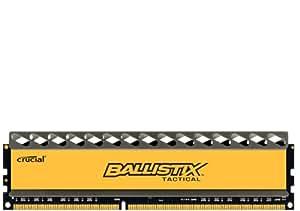 Crucial BLT4G3D1337DT1TX0CEU Mémoire RAM 4 Go DDR3 1333 MT/s (PC3-10600) CL7 @1.5V Ballistix Tactical UDIMM 240pin