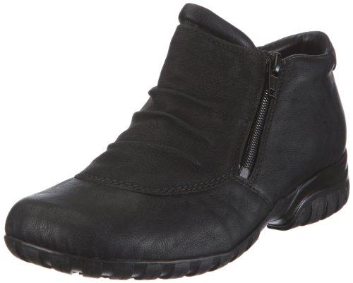 Rieker Damen L4691 Kurzschaft Stiefel, schwarz / 01, 40 EU