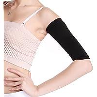ULTNICE Damen Arm Former Elastische Oberarm Shaper Sleeve für Sport Fitness Anti-Cellulite (Schwarz) preisvergleich bei billige-tabletten.eu