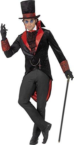 Maschio adulto costume di Halloween Dracula completo uomo costume travestimento