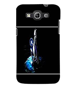 PrintDhaba Vector Fox D-1436 Back Case Cover for SAMSUNG GALAXY WIN i8552 (Multi-Coloured)