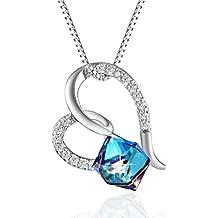Platone H amore cuore moda donna gioielli ciondolo