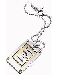 Dolce   Gabbana JEWELS D G PROUD EXT Neck Lace BALL chain + orecchini  plate SS 075fce59ce5
