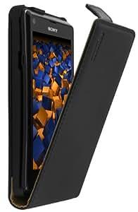 mumbi Flip Case für Sony Xperia L Tasche