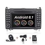 Android 8.1autoradio 17,8cm touch screen GPS stereo radio per Mercedes-Benz B200una classe B W245W169Viano W639Vito Sprinter W906