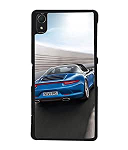 Fuson Designer Back Case Cover for Sony Xperia Z1 :: Sony Xperia Z1 L39h :: Sony Xperia Z1 C6902/L39h :: Sony Xperia Z1 C6903 :: Sony Xperia Z1 C6906 :: Sony Xperia Z1 C6943 (Royal Sportsman Race Speed Young Boy Male)