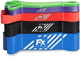 FFEXS optrekbanden - Premium latex banden voor Pull Ups Chin Ups Stretching