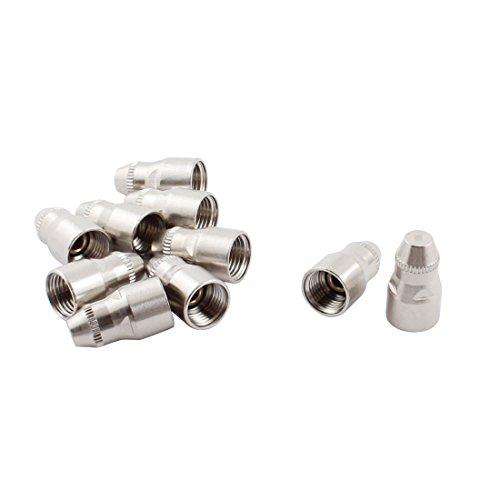 sourcingmap® 10Stk 25KW Metall P80 Schneidbrenner Elektrode Düse für 80A Plasmaschneider