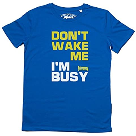 Plain Lazy, Don' t Wake Me da uomo ORGANIC loungewear T Shirt