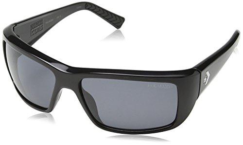Converse Herren Wrap Sonnenbrille, Gr. One Size, Schwarz
