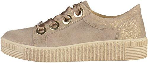 Gabor 83.330.62 62, Zapatos Con Cordones De Metal Gris Grau