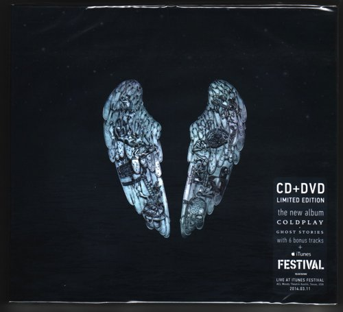 COLDPLAY Ghost Stories / iTunes Festival 2014 limited edition CD/DVD BOX