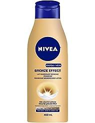 NIVEA Effet Bronze Lait Nourrissant Bronzage Progressif Peaux Mates 400 ml