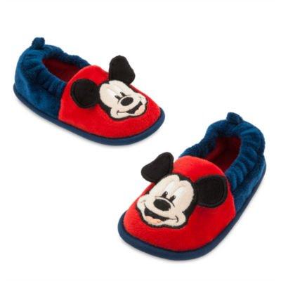 Authentic Disney Store - Mickey Mouse Warme Schuhe / Hausschuhe für Kinder / Boys-Größe; 27/28