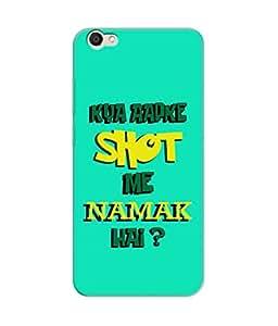 Be Awara Shot Mein Namak Hai Designer Mobile Phone Case Back Cover For Vivo V5
