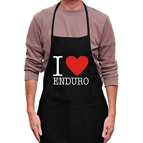 """Teeburon I Love Enduro Classic Schürze 24\""""breit und 30\"""" lang"""