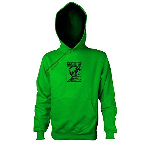 TEXLAB - Wanted Arrow - Herren Kapuzenpullover, Größe XXL, grün