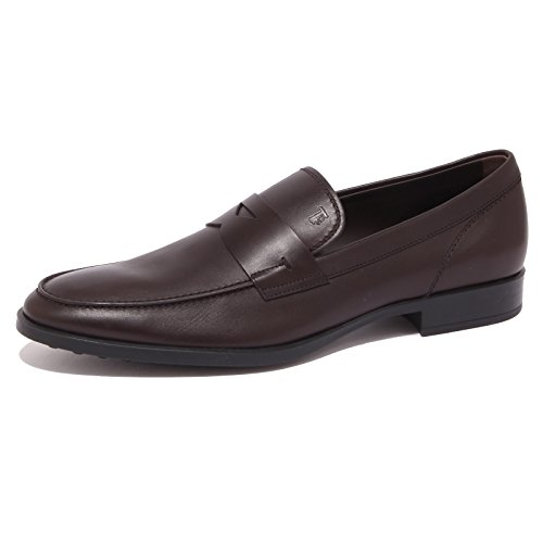 Tod's 4309Q Mocassino Uomo Gomma Brown Shoe Loafer Man [6]
